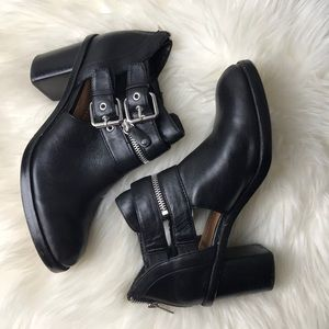 Dolce vita black booties size 8